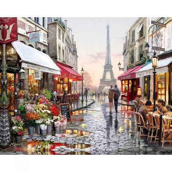 Paint by numbers - Paris Street