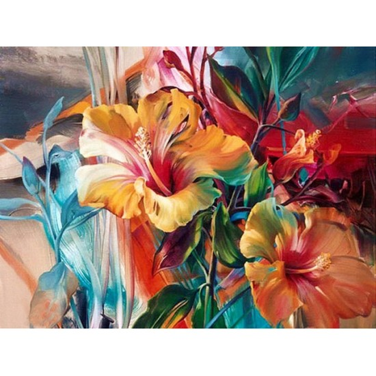 PAINT BY NUMBERS - FLOWERS