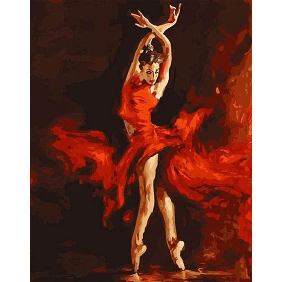 PAINT BY NUMBERS - DANCER