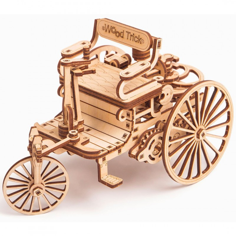 The First Car wood trick 3d model