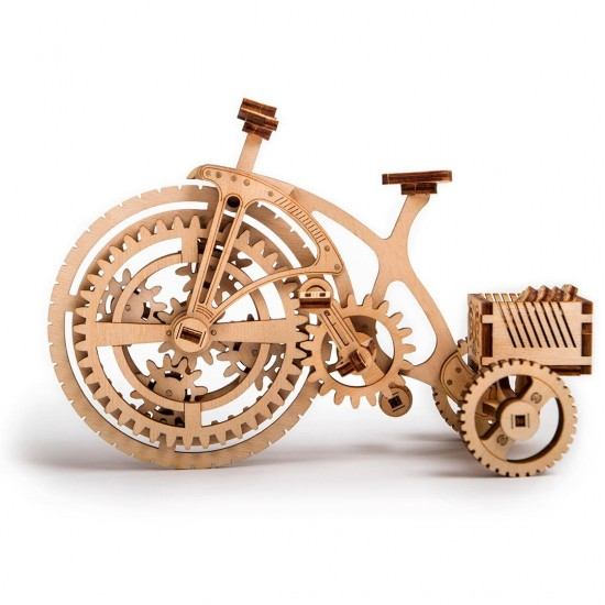 bicycle 3d model wood trick