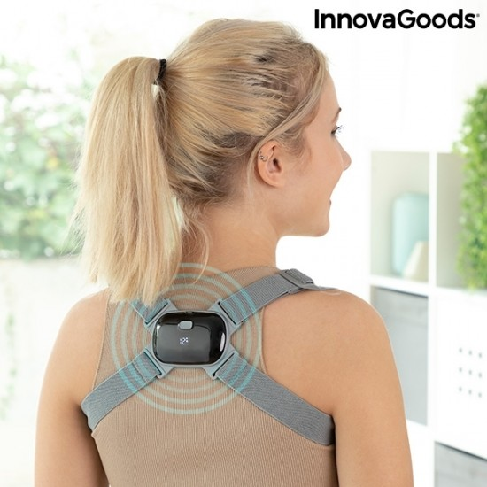 INTELLIGENT RECHARGEABLE POSTURE TRAINER WITH VIBRATION VIBACK INNOVAGOODS