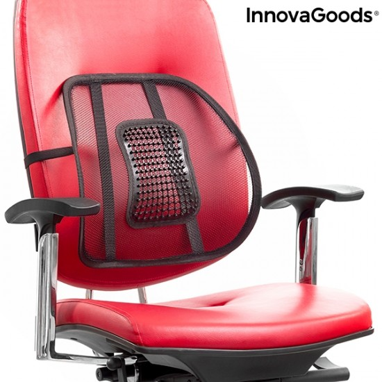 PORTABLE BREATHABLE LUMBAR SUPPORT BACKONFY INNOVAGOODS